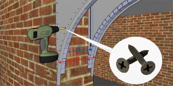 Обустройство арки из гипсокартона