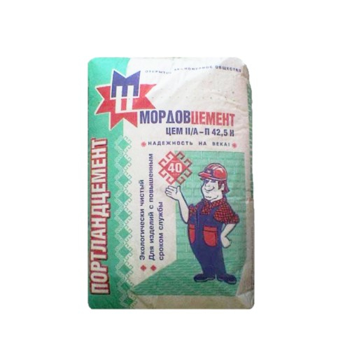 Цемент МОРДОВ М500-Д20 мешок 50кг
