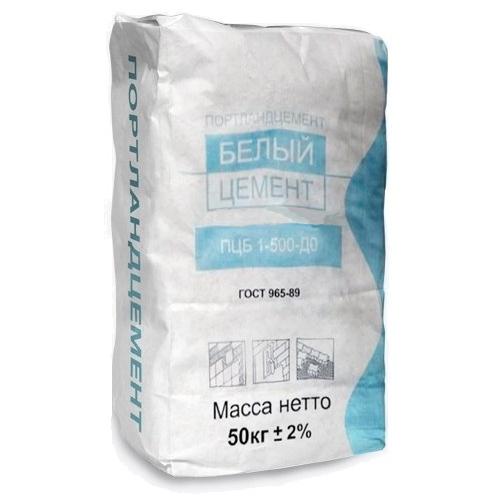Белый цемент ПЦБ
