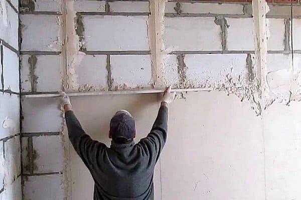 Стены из строительных блоков